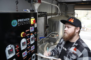 John Hunter, Head Brewer of Bitter Brothers Brewing Co, San Diego Brewery