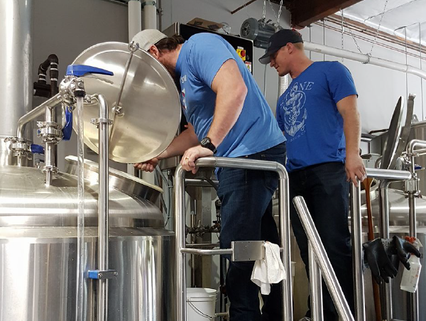 SD Enforcers Collaborate on the Hazy Blue Line IPA, Bitter Brothers Brewing Co