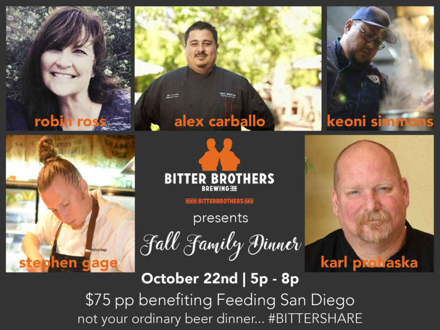 Fall Family Dinner at Bitter Brothers Brewing Company