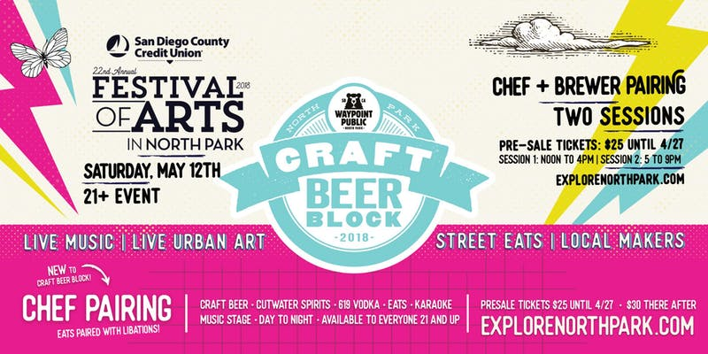 North Park Festival of the Arts, San Diego, Beer fest